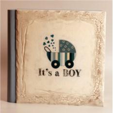 Изображение подарка Детский фотоальбом в подарочном кейсе It's A Boy