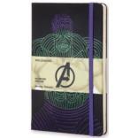 Записная книжка Moleskine The Avengers Hulk