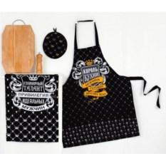 """Изображение подарка Кухонный подарочный набор мужчине """"Король кухни"""""""