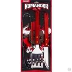 Изображение подарка Набор для барбекю Komandor