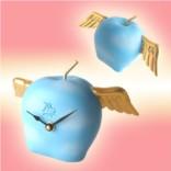 Голубые настольные часы Адамово яблоко