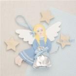 Подвеска Ангел с мешочком подарков