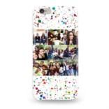 Чехол для iPhone с вашим фото «Точки»