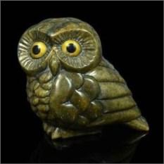 """Изображение подарка Скульптура из кальцита """"Совушка"""""""