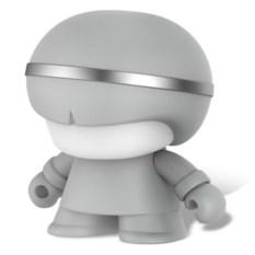 Изображение подарка Портативный серебристый динамик Bluetooth Xoopar Mini XBoy