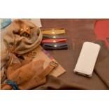 Кожаный чехол для iPhone 5/5S «Снежный флотер»