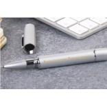 Серебряная ручка с флешкой