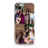 Чехол для iPhone с 4 вашими фото «Коллаж»