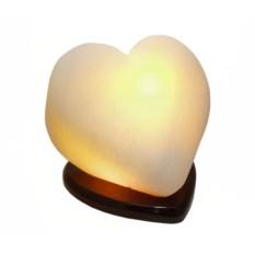 """Изображение подарка Солевая лампа """"Сердце"""", свечение желтое"""