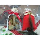 Рождественский набор лавандовых саше Канун рождества