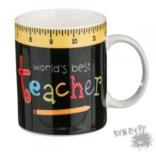 Кружка World Best Teacher на 350 мл