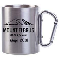 Изображение подарка Кружка Carabine с именной гравировкой MOUNT ELBRUS